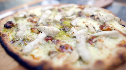 Chicken & Pesto Pizza