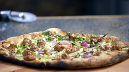 Pork & Fennel Pizza